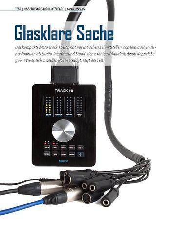 Professional Audio Motu Track 16