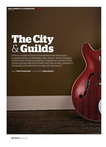 Guitarist Guild X-175 Manhattan