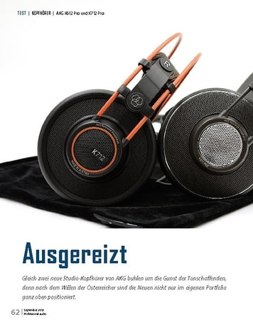 Professional Audio AKG K612 Pro und K712 Pro