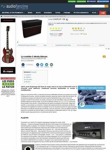 Audiofanzine.com Line 6 AMPLIFi 150