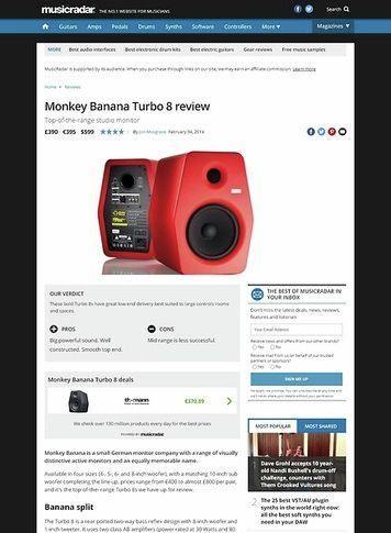 MusicRadar.com Monkey Banana Turbo 8