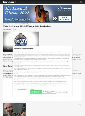 Bonedo.de Videokolumne #14:Pedal Sports!