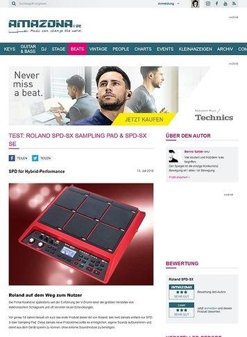 Amazona.de Roland SPD-SX Sampling Pad & SPD-SX SE