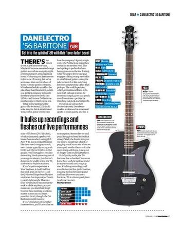 Total Guitar Danelectro '56 Baritone