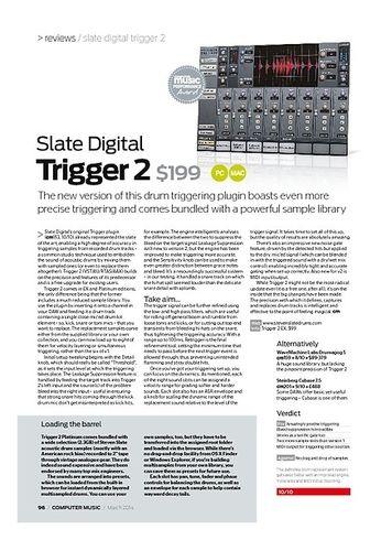 Computer Music Slate Digital Trigger 2