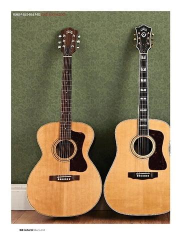 Guitarist Guild D-55