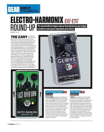 Total Guitar Electro-Harmonix OD Glove