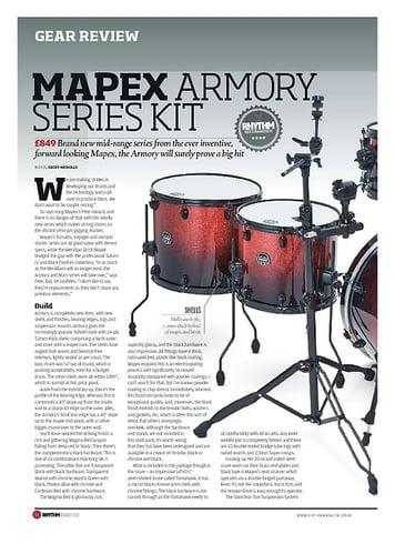 Rhythm Mapex Armory Series Kit