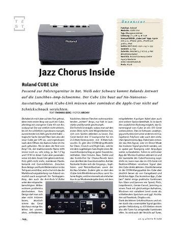 Gitarre & Bass Roland CUBE Lite, Desktop-Amp