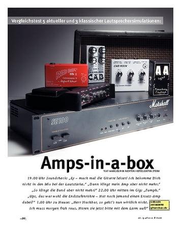 Gitarre & Bass Lautsprechersimulationen im Vergleich!