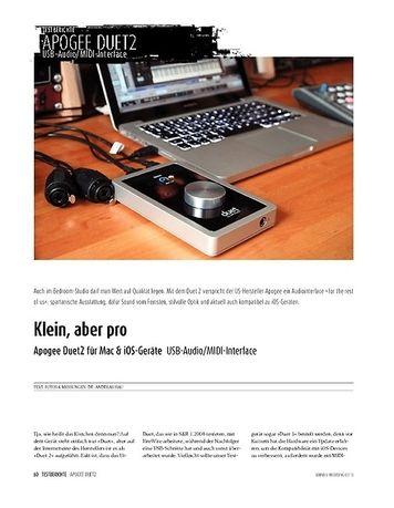Sound & Recording Apogee Duet 2 für Mac & iOS-Geräte - USB-Audiointerface