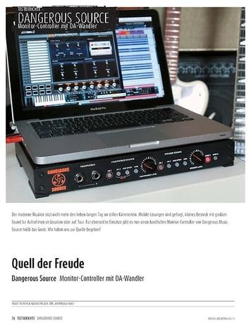 Sound & Recording Dangerous Music Source - Monitor-Controller mit DA-Wandlern