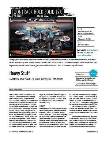 Sound & Recording Toontrack Rock Solid EZX - Drum-Library für EZdrummer