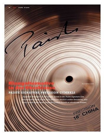 Sticks Paiste Signature Precision Cymbals