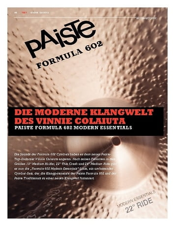 Sticks Paiste Formula 602 Modern Essentials