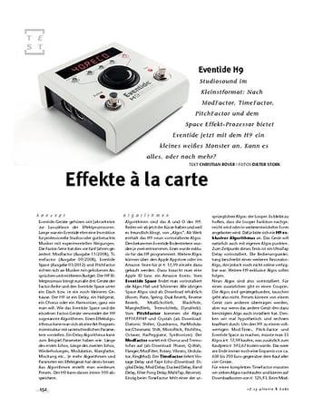 Gitarre & Bass Eventide H9, Multi-FX-Pedal