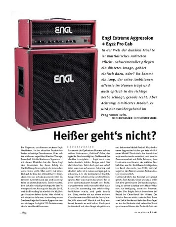 Gitarre & Bass Engl Extreme Aggression + E412 Pro Cab, Tube-Stack