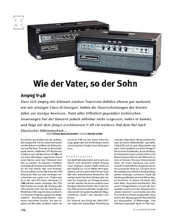 Gitarre & Bass Ampeg V-4B, Bass-Verstärker