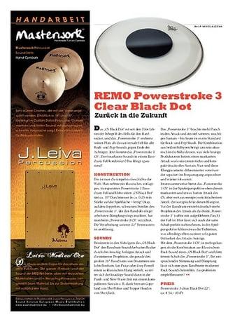 Sticks REMO Powerstroke 3 Clear Black Dot