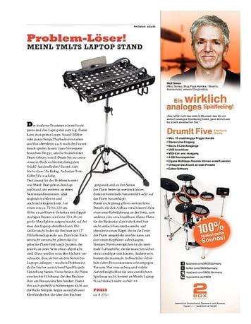 Sticks Meinl TMLTS Laptop Stand - Stabile Basis für den Rechner