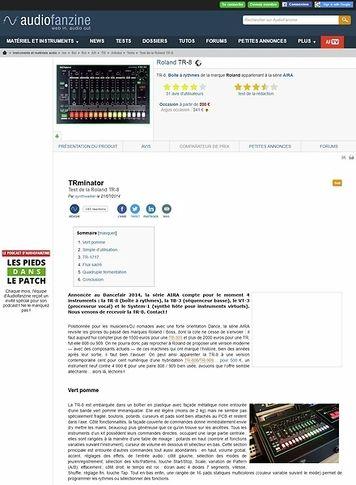 Audiofanzine.com Roland TR-8