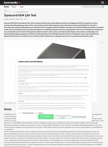 Bonedo.de Dynacord AXM 12A