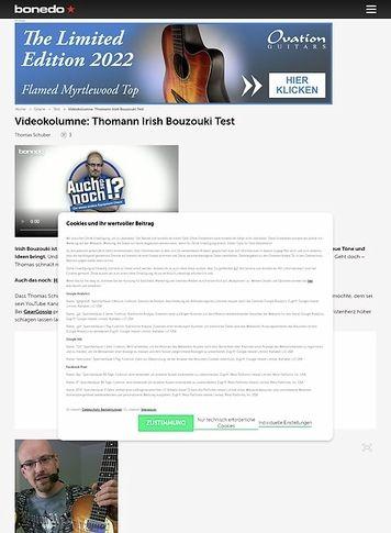 Bonedo.de Videokolumne #28: Mal übern Tellerrand!