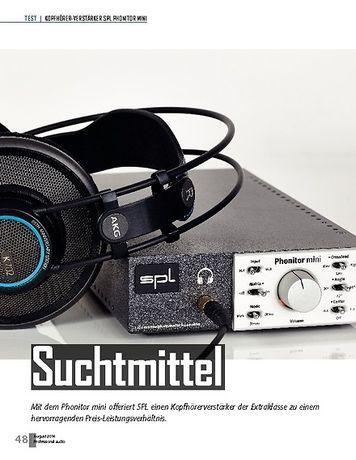 Professional Audio SPL Phonitor Mini