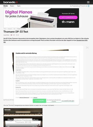 Bonedo.de Thomann DP-33