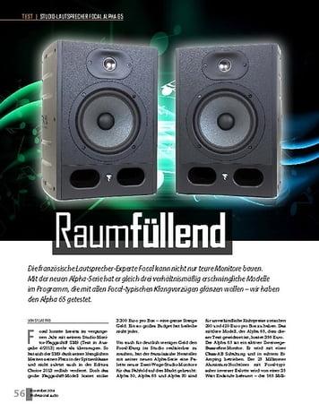 Professional Audio Focal Alpha 65