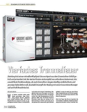 Professional Audio Groove Agent 4