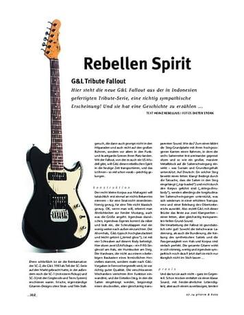 Gitarre & Bass G&L Tribute Fallout