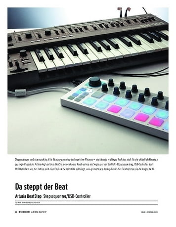 Sound & Recording Arturia BeatStep - Stepsequenzer/USB-Controller