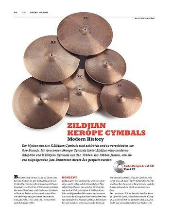 Sticks Zildjian Kerope Cymbals