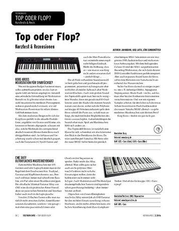 Keyboards Kurztest & Rezensionen