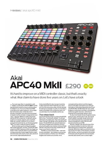 Akai APC 40 Mk2 – Thomann UK