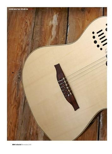 Guitarist Godin Multiac Nylon SA