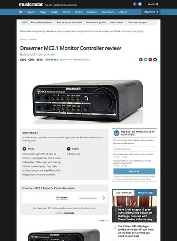 MusicRadar.com Drawmer MC 2.1