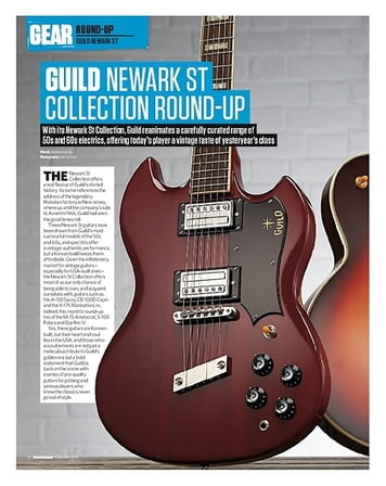 Total Guitar Guild Starfire IV