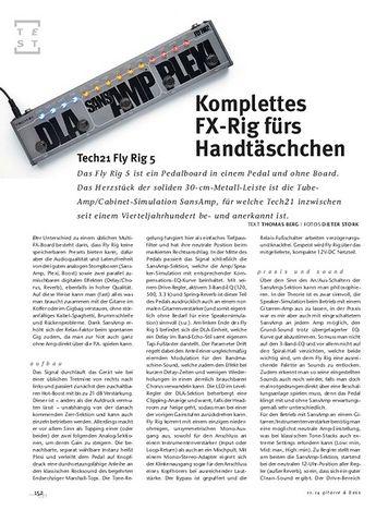 Gitarre & Bass Tech21 Fly Rig 5, Kompakt-Multi