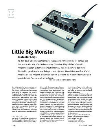 Gitarre & Bass BluGuitar Amp1, Kompakt-Amp