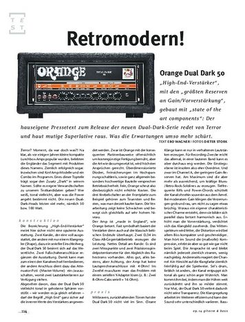 Orange Dual Dark 50 – Musikhaus Thomann