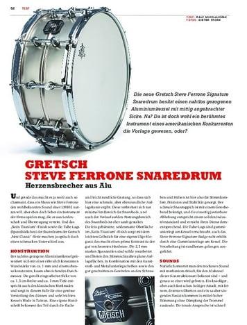 Sticks Gretsch Steve Ferrone Snaredrum