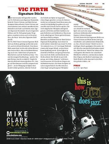 Sticks Vic Firth Signature Sticks