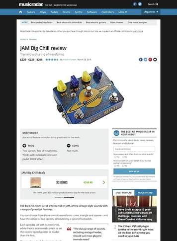MusicRadar.com JAM Big Chill