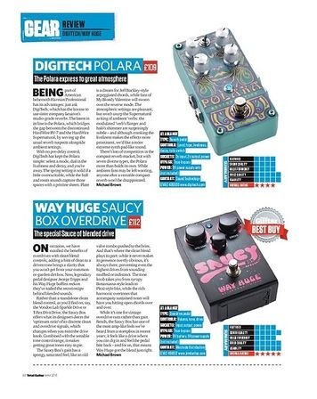 Total Guitar Digitech Polara