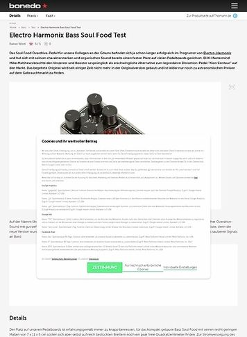 Bonedo.de Electro Harmonix Bass Soul Food