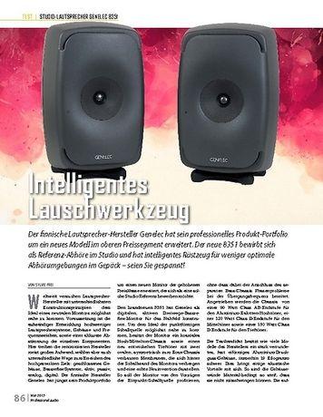 Professional Audio Genelec 8351