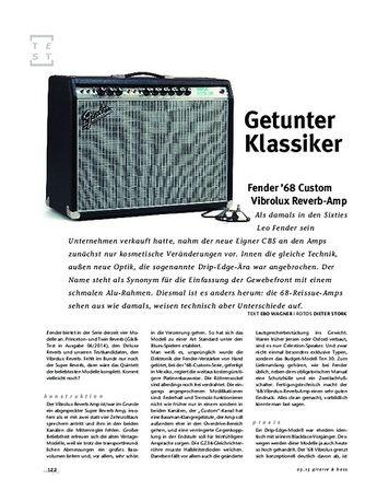 Gitarre & Bass Fender '68 Custom Vibrolux Reverb-Amp