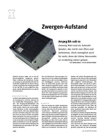 Gitarre & Bass Ampeg BA-108 v2
